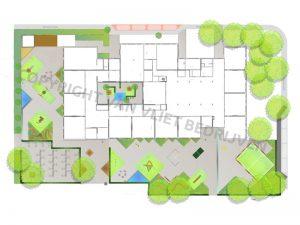 VVB BV Waddinxveen - Kraan Groenvoorziening - Schoolplein Bethelschool