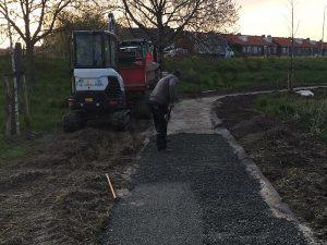 VVB BV Waddinxveen - Kraan Groenvoorziening - Groot Groen Station Pad Kanaaldijk