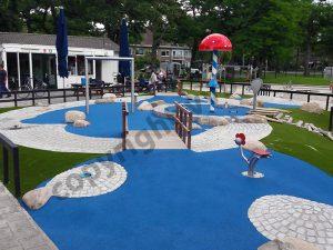 VVB BV voor campings en speeltuinen - Spraypark